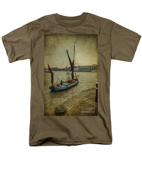 Men's T-Shirt  (Regular Fit) featuring the photograph Sailing Away... by Clare Bambers