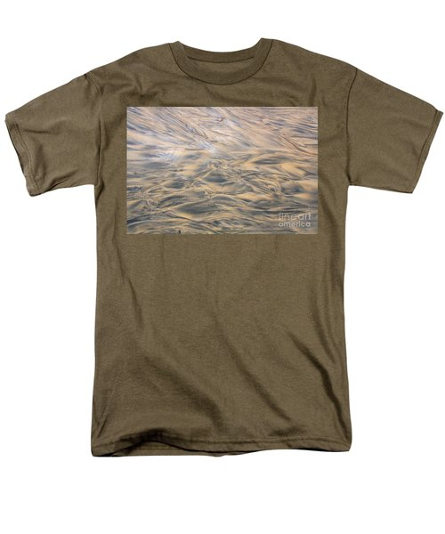 Sand Patterns Men's T-Shirt  (Regular Fit) by Nareeta Martin