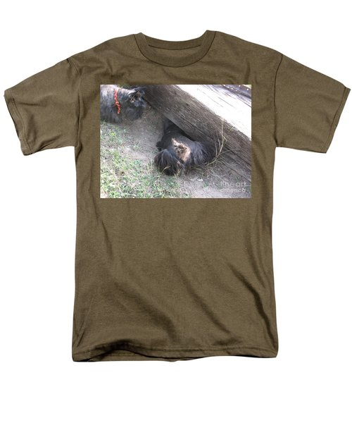 Scotty Armadillo Dance Men's T-Shirt  (Regular Fit) by Mark Robbins