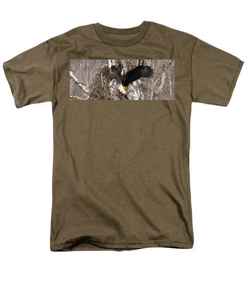 Men's T-Shirt  (Regular Fit) featuring the photograph Screaming Eagle  by Randall Branham