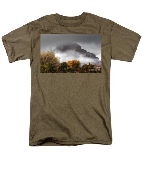 Men's T-Shirt  (Regular Fit) featuring the photograph Sedona Fog by Tam Ryan