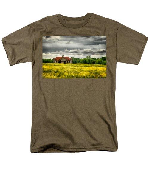 Shiloh School Men's T-Shirt  (Regular Fit) by Lynne Jenkins