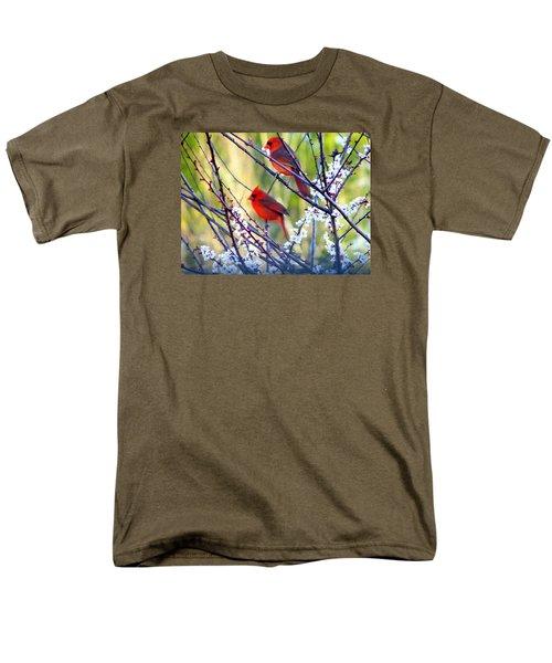 Song Of Spring Men's T-Shirt  (Regular Fit) by Judy Wanamaker