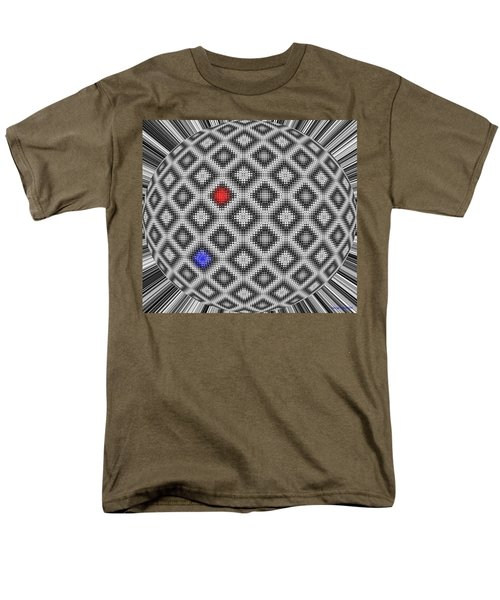 Men's T-Shirt  (Regular Fit) featuring the digital art Sphere Number 10 by George Pedro