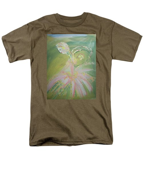 Spring Fairy Entrance Men's T-Shirt  (Regular Fit) by Judith Desrosiers