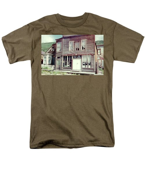Men's T-Shirt  (Regular Fit) featuring the photograph Stark Bros Store by Bonfire Photography