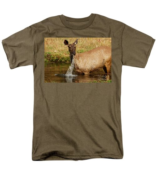 Men's T-Shirt  (Regular Fit) featuring the photograph Startled by Fotosas Photography