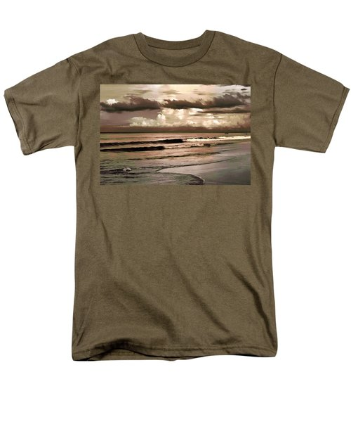 Men's T-Shirt  (Regular Fit) featuring the photograph Summer Afternoon At The Beach by Steven Sparks