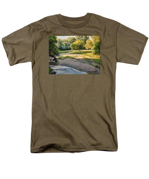 Summer Evening Along The Creek Men's T-Shirt  (Regular Fit) by Bruce Morrison