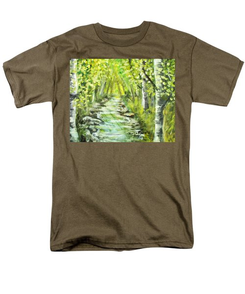 Men's T-Shirt  (Regular Fit) featuring the painting Summer by Shana Rowe Jackson