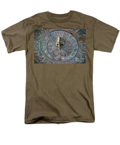 Sundial Men's T-Shirt  (Regular Fit) by Henrik Lehnerer