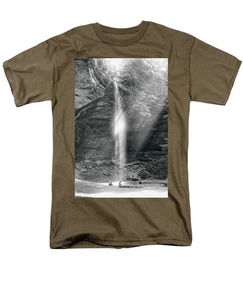 Men's T-Shirt  (Regular Fit) featuring the photograph Sunlight Falls by Mary Almond