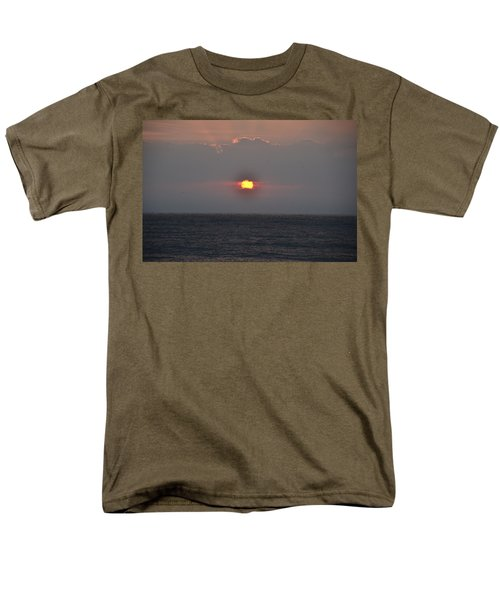 Sunrise In Melbourne Fla Men's T-Shirt  (Regular Fit) by Randy J Heath