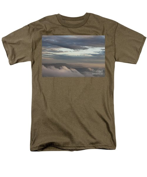 Men's T-Shirt  (Regular Fit) featuring the photograph Sunrise In The Mountains by Jeannette Hunt