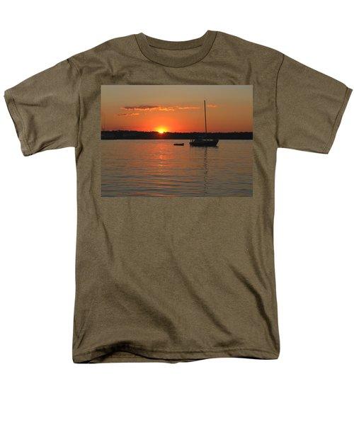 Men's T-Shirt  (Regular Fit) featuring the photograph Sunset Cove by Clara Sue Beym