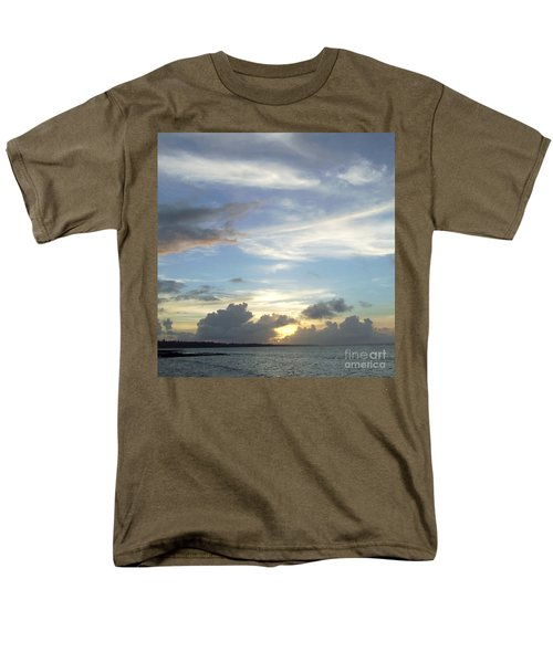 Sunset In Majuro Men's T-Shirt  (Regular Fit) by Andrea Anderegg