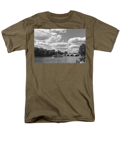 Men's T-Shirt  (Regular Fit) featuring the photograph Thames River Cruise by Maj Seda