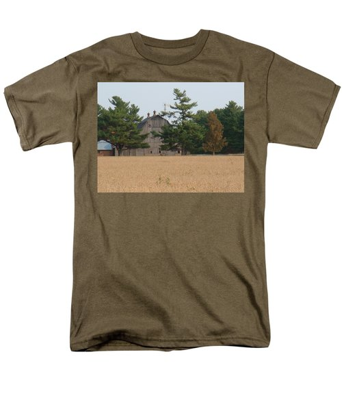 Men's T-Shirt  (Regular Fit) featuring the photograph The Farm by Bonfire Photography