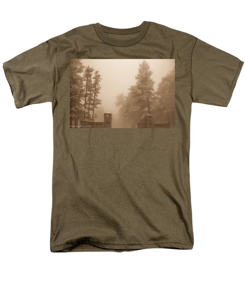 Men's T-Shirt  (Regular Fit) featuring the photograph The Fog by Shannon Harrington