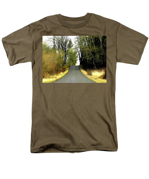 The High Road Men's T-Shirt  (Regular Fit) by Sadie Reneau