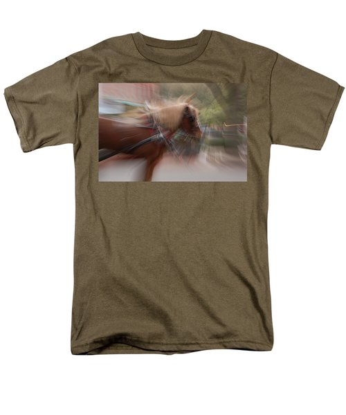 The Horse Men's T-Shirt  (Regular Fit) by Randy J Heath