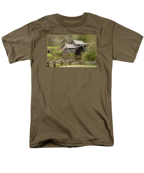 The Old Grist Mill Men's T-Shirt  (Regular Fit) by Cindy Manero