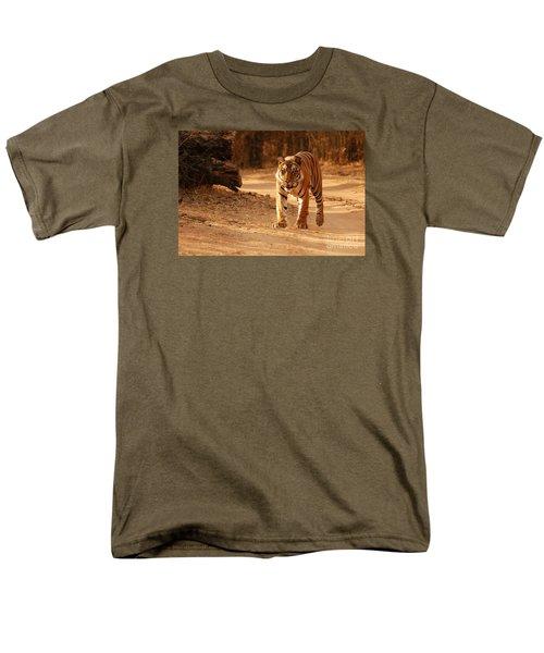 The Royal Bengal Tiger Men's T-Shirt  (Regular Fit) by Fotosas Photography