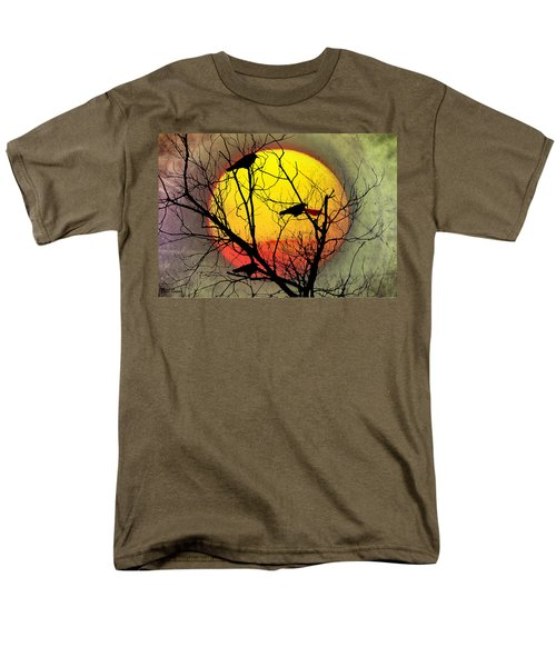 Three Blackbirds Men's T-Shirt  (Regular Fit) by Bill Cannon