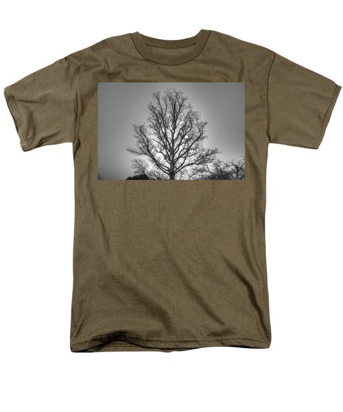 Through The Boughs Bw Men's T-Shirt  (Regular Fit) by Dan Stone