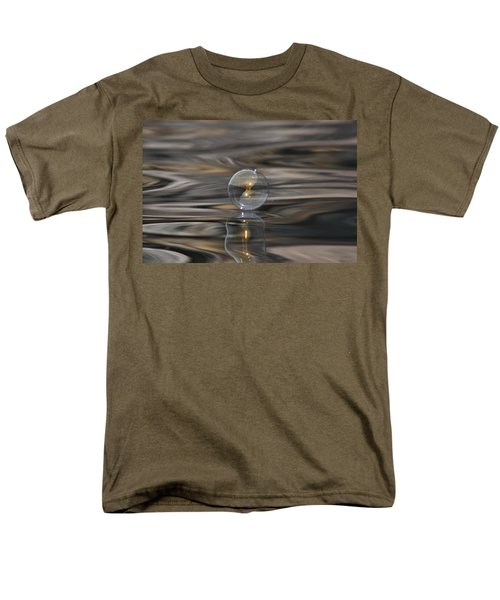 Tiger Water Bubble Men's T-Shirt  (Regular Fit) by Cathie Douglas