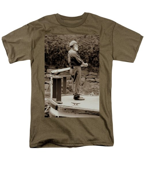 Men's T-Shirt  (Regular Fit) featuring the photograph Timeless Serenity by Suzanne Stout