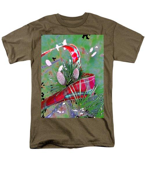 Men's T-Shirt  (Regular Fit) featuring the digital art Tis The Season by Anne Mott