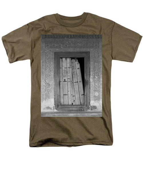Men's T-Shirt  (Regular Fit) featuring the photograph Tomb Door by David Pantuso