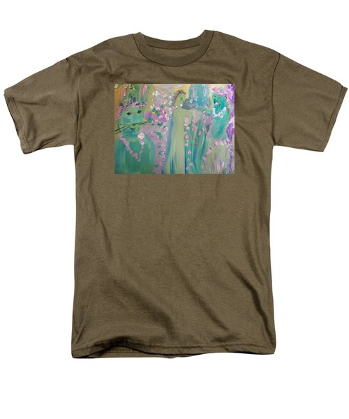 Topiary Easter Men's T-Shirt  (Regular Fit) by Judith Desrosiers
