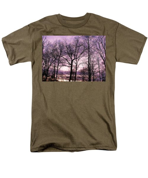 Men's T-Shirt  (Regular Fit) featuring the photograph Trees In Glorious Calm by Pamela Hyde Wilson
