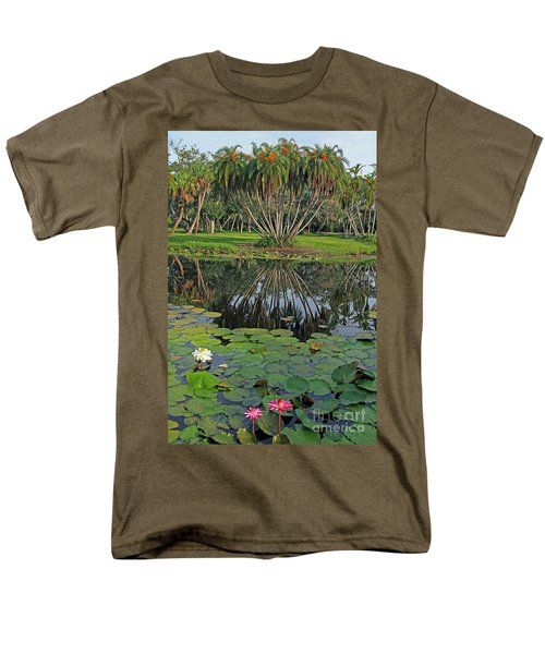 Men's T-Shirt  (Regular Fit) featuring the photograph Tropical Splendor by Larry Nieland