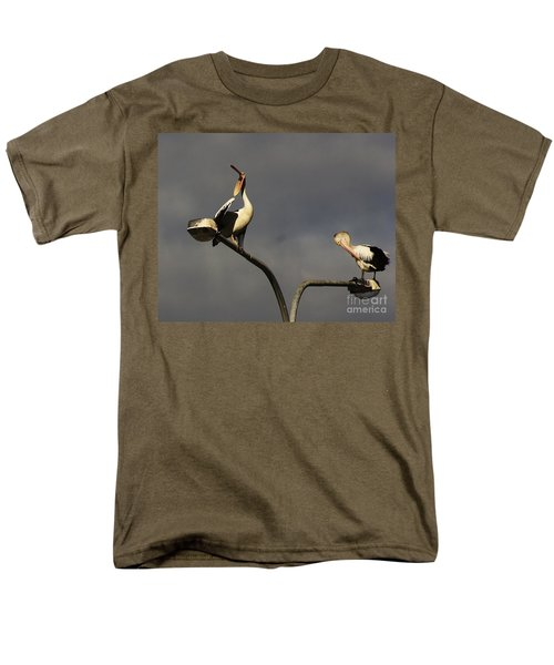 Men's T-Shirt  (Regular Fit) featuring the photograph Two On A Pole by Blair Stuart