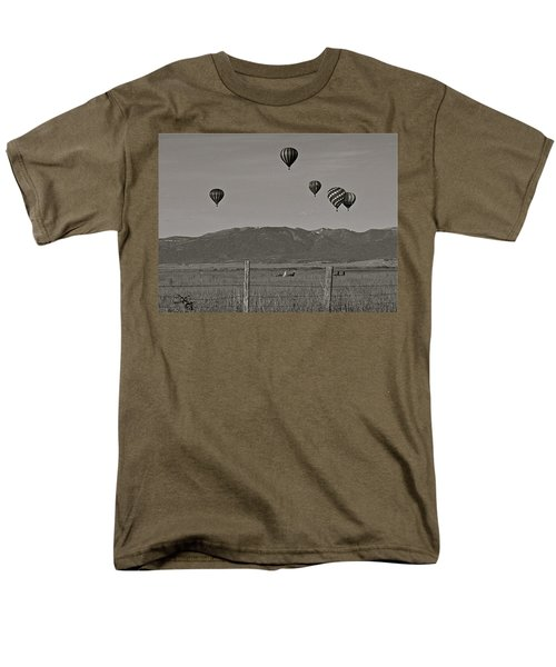 Men's T-Shirt  (Regular Fit) featuring the photograph Unconcerned Lamas by Eric Tressler
