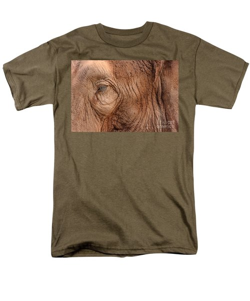 Up Close And Personal Men's T-Shirt  (Regular Fit) by Mary Mikawoz