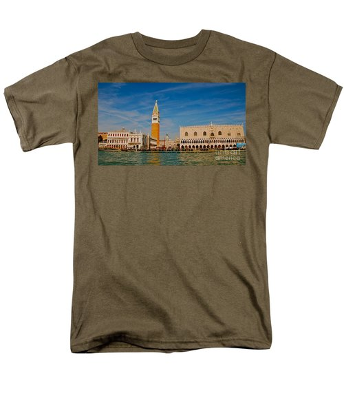 Men's T-Shirt  (Regular Fit) featuring the photograph Venice's Front Door by Eric Tressler