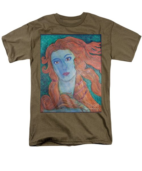Men's T-Shirt  (Regular Fit) featuring the painting Venus's Haze by Lucia Grilletto
