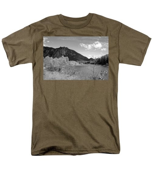 Men's T-Shirt  (Regular Fit) featuring the photograph View From The River by Kathleen Grace