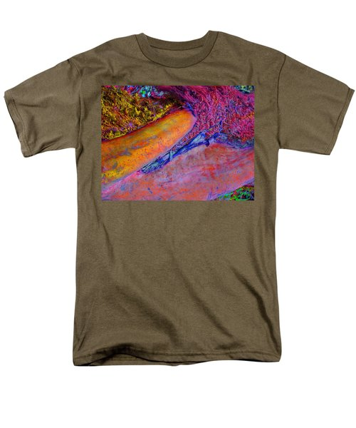 Men's T-Shirt  (Regular Fit) featuring the digital art Waking Up by Richard Laeton