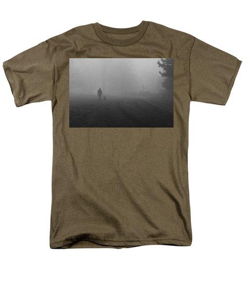 Walk The Dog Men's T-Shirt  (Regular Fit) by Maj Seda