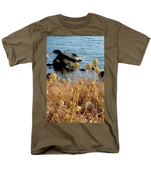 Men's T-Shirt  (Regular Fit) featuring the photograph Watching The Sea 2 by Pedro Cardona