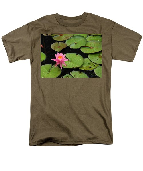 Water Lily Men's T-Shirt  (Regular Fit) by Kay Lovingood