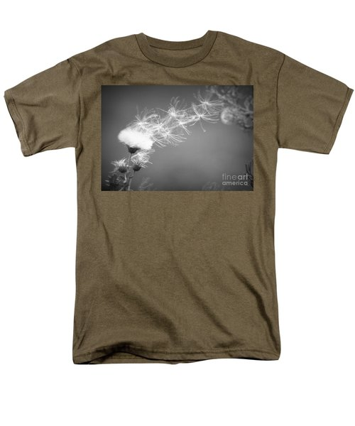 Men's T-Shirt  (Regular Fit) featuring the photograph Weed In The Wind by Deniece Platt