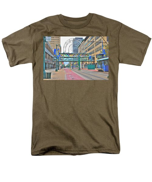 Men's T-Shirt  (Regular Fit) featuring the photograph Welcome No 2 by Michael Frank Jr
