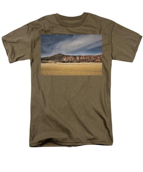 Men's T-Shirt  (Regular Fit) featuring the photograph Wheatfield Zion National Park by Hugh Smith