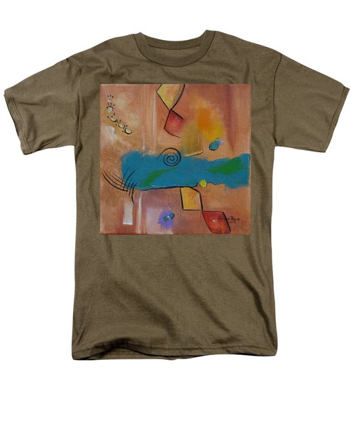 Men's T-Shirt  (Regular Fit) featuring the painting Wild Wild West by Judith Rhue
